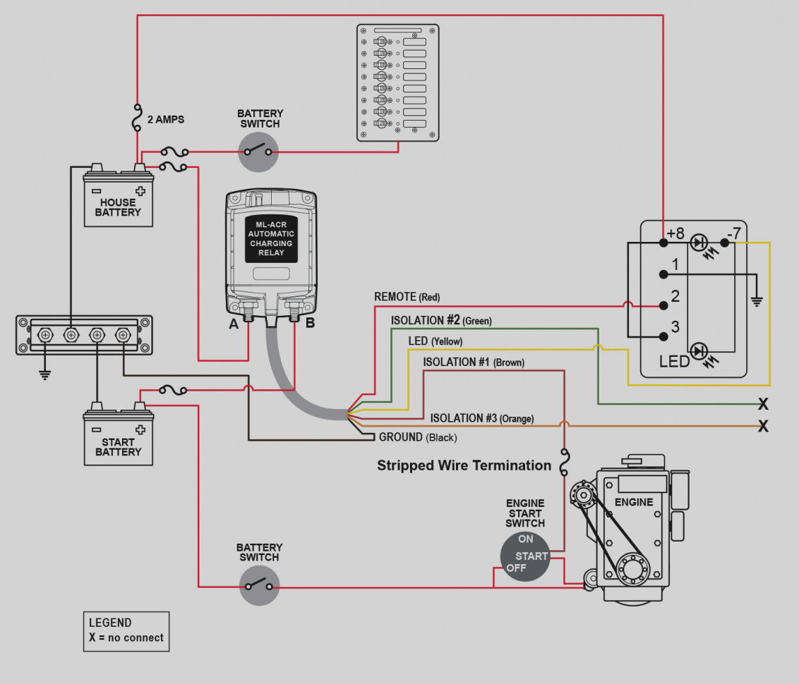 Automatic Charging Relay Wiring Diagram - Smart Wiring Diagrams •