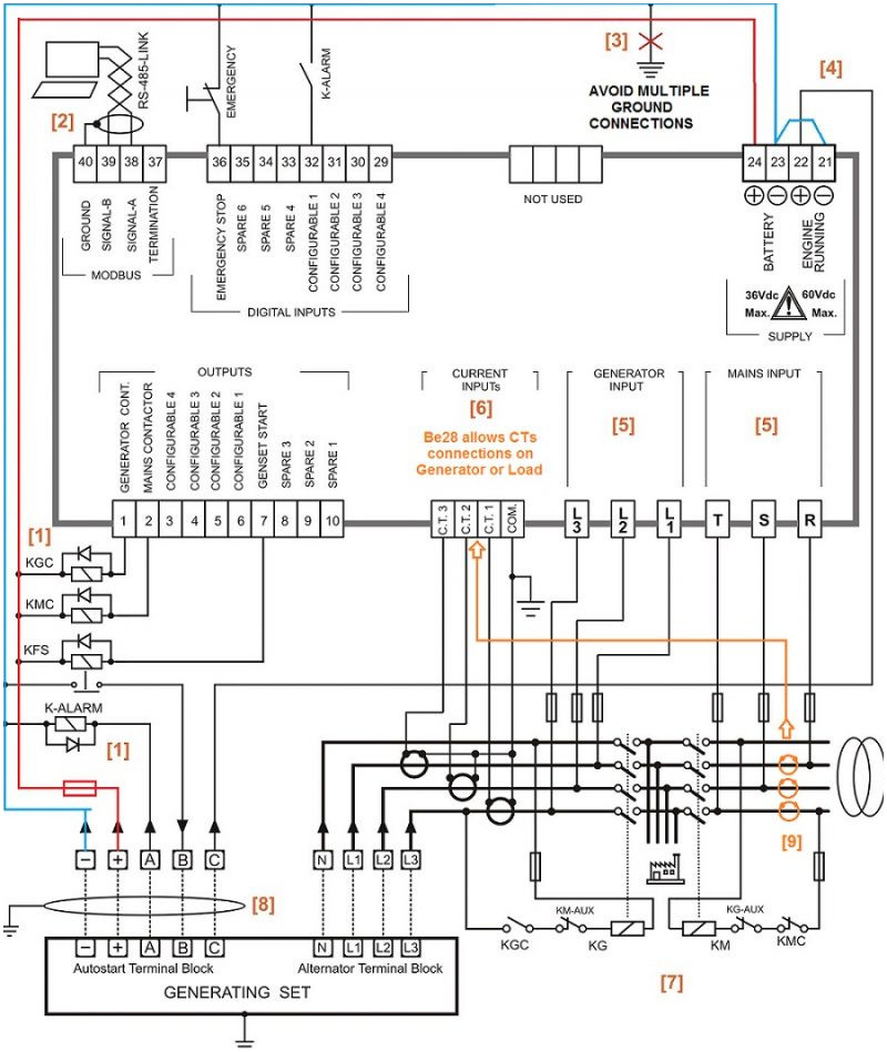 automatic standby generator wiring diagram Collection-Manual Generator Transfer Switch Wiring Diagram Portable Automatic 14-r