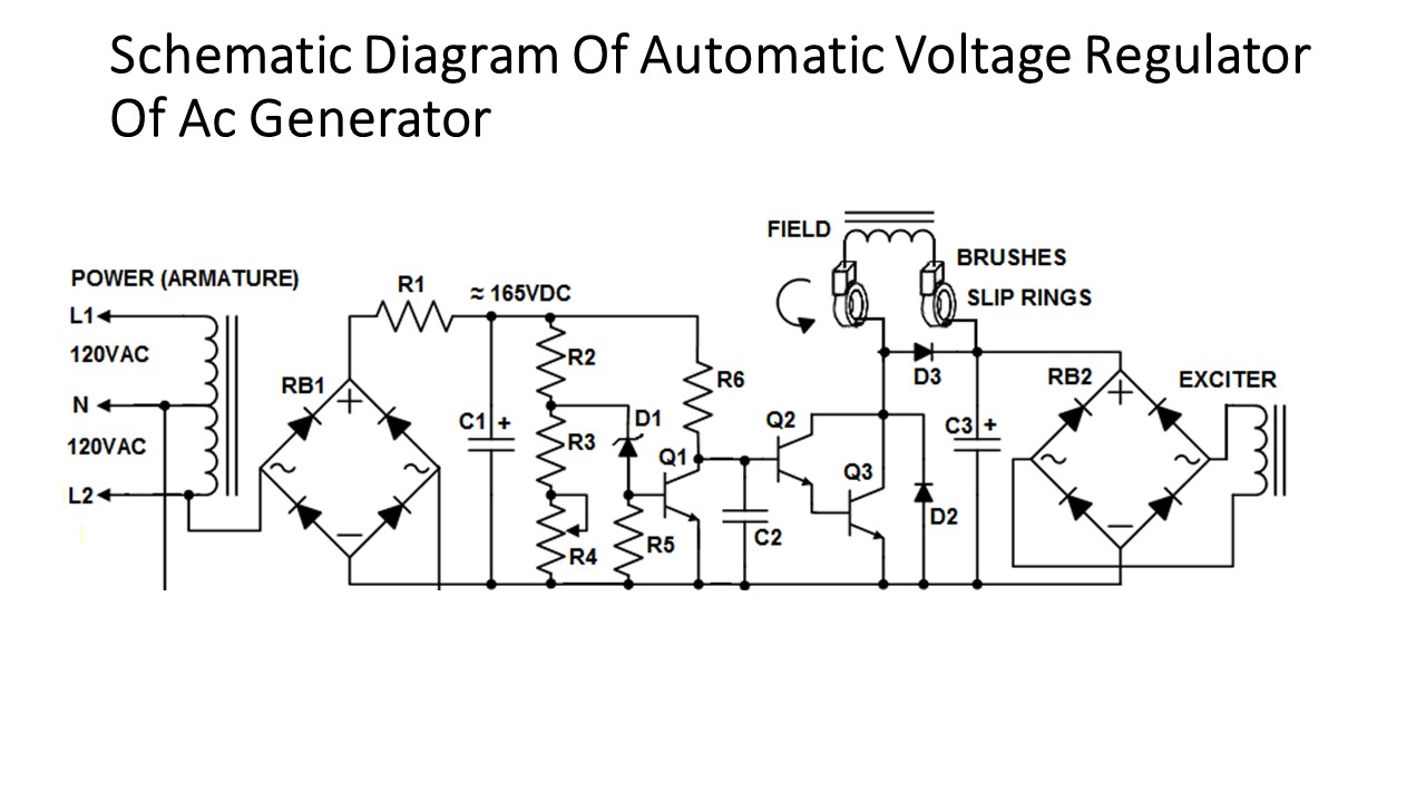 Automotive Voltage Regulator Wiring Diagram Download Alternator Elevation And End View In Half Sections Of