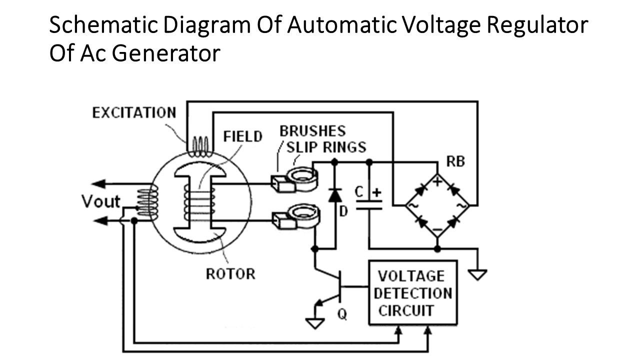 Generator Regulator Schematic Trusted Wiring Diagram Circuit Voltage Stabilizer Automotive House Adjustable
