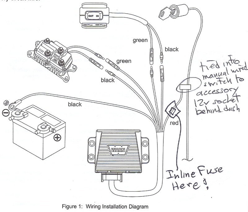 badland winch wiring diagram gallery