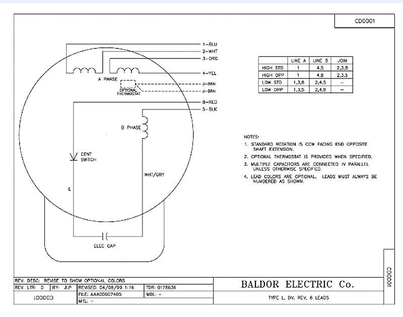 baldor industrial motor wiring diagram Collection-Baldor Reliance Single Phase Motor Wiring Diagram Diagrams Tearing Electric 14-q