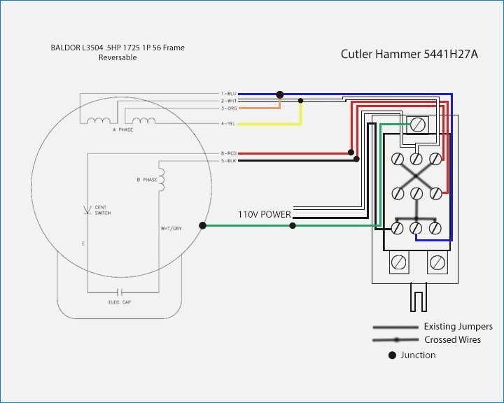 Baldor Wiring Diagram 115 230 Schema Mix 5 Hp 1 Phase Volt