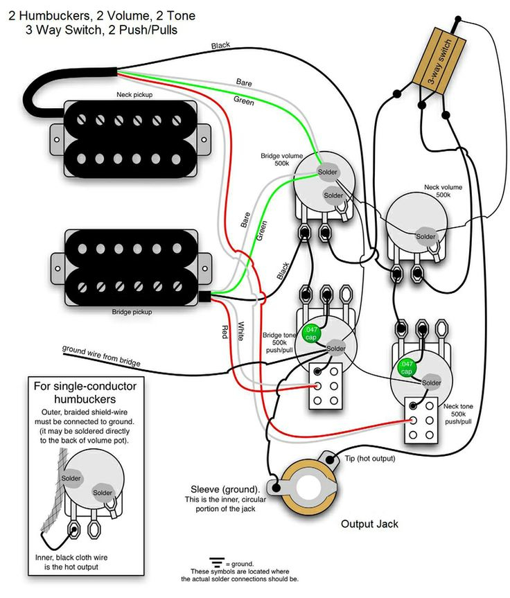 bass wiring diagram 2 volume 2 tone Collection-The world s largest selection of free guitar wiring diagrams Humbucker Strat Tele Bass and more 15-k