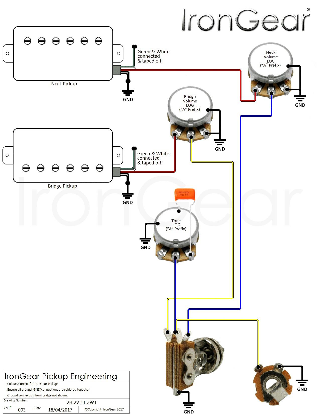 bass wiring diagram 2 volume 2 tone Download-Wiring Diagram For A Guitar  Fresh Wiring
