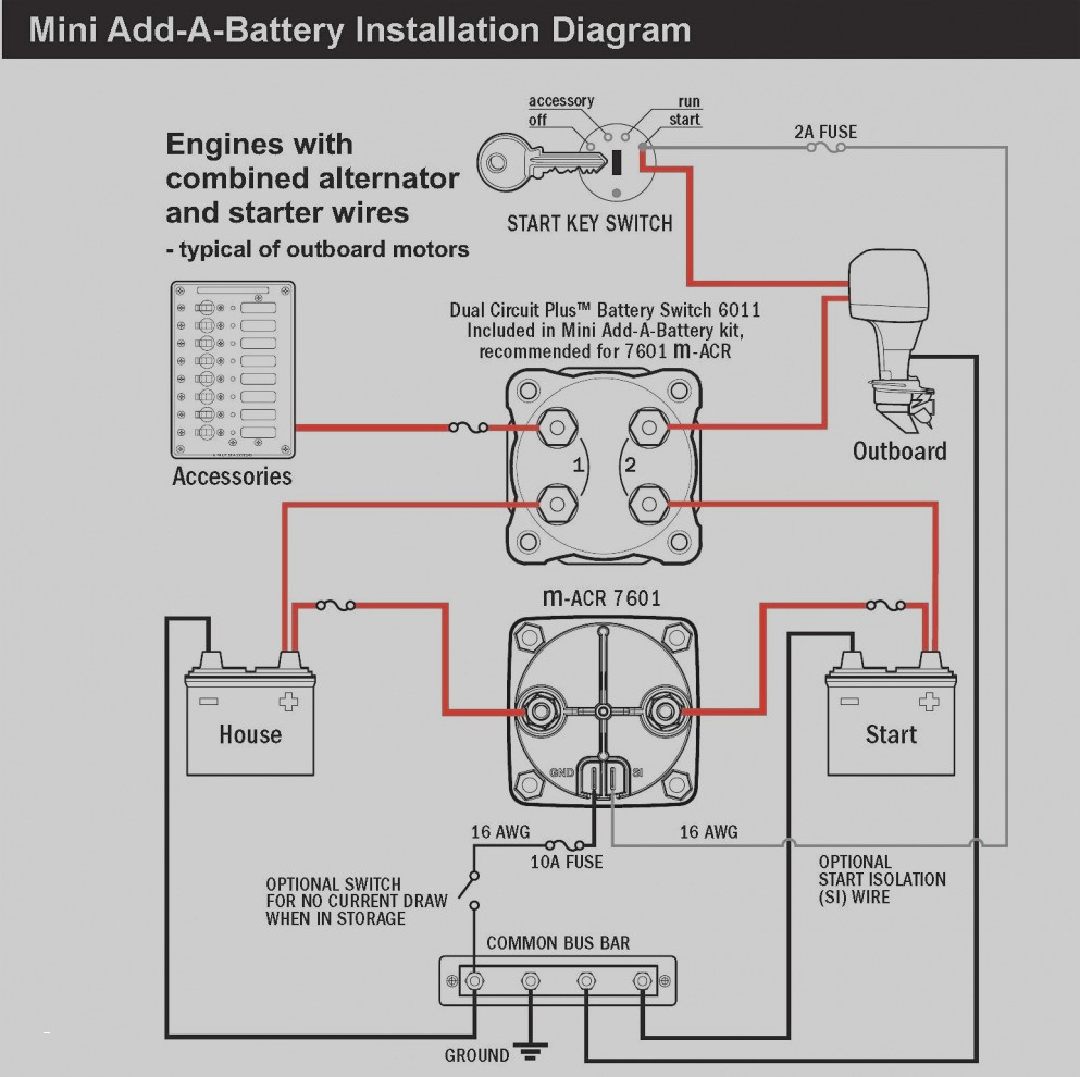 battery wiring diagram Download-Typical Wiring Diagram Best Best Wiring Diagram Od Rv Park Electrical Fresh Wiring Diagrams 13-p