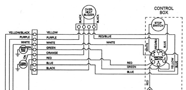 Mercury Outboard Ignition Switch Wiring Diagram