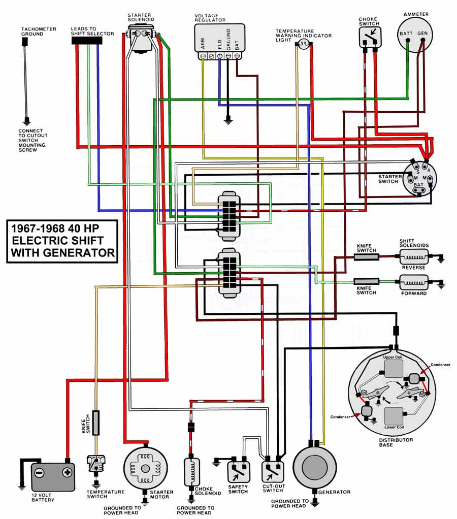 Boat Ignition Switch Wiring Diagram Collection Sample Download Technical Information Entrancing Mercury Outboard