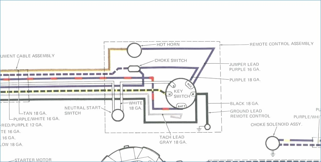 Boat Ignition Switch Wiring Diagram - Terrific Mercury Outboard Key Switch Wiring Diagram Gallery Best 6h
