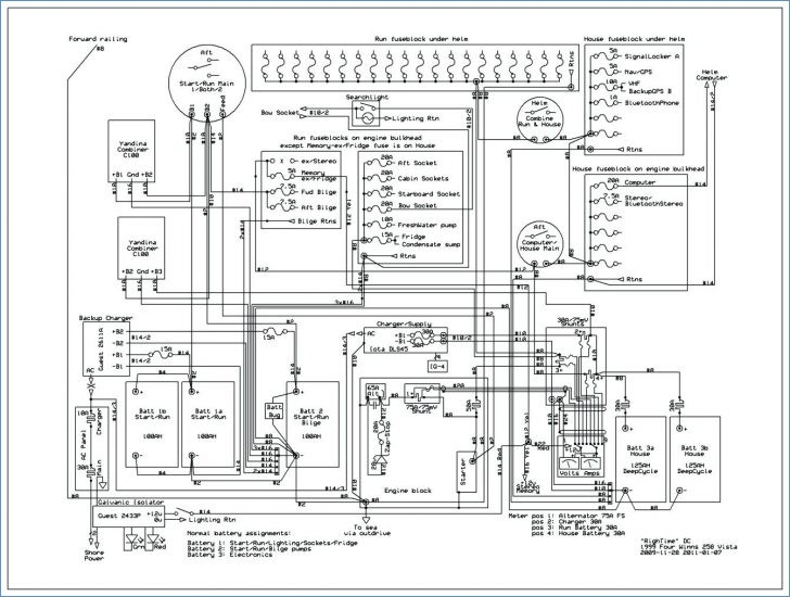 boat wiring diagram software Collection-Boat Switch Panel Wiring Diagram Maker Marine Terminal Blocks 4 to Suzuki Multicab Electrical Wiring 11-a