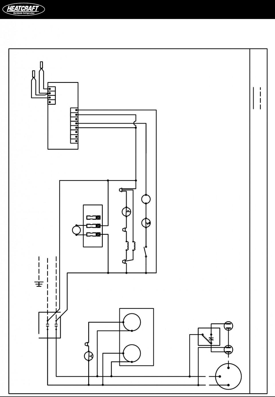 bohn walk in freezer wiring diagram Collection-Heatcraft Freezer Wiring Diagram Britishpanto Inside 6-c