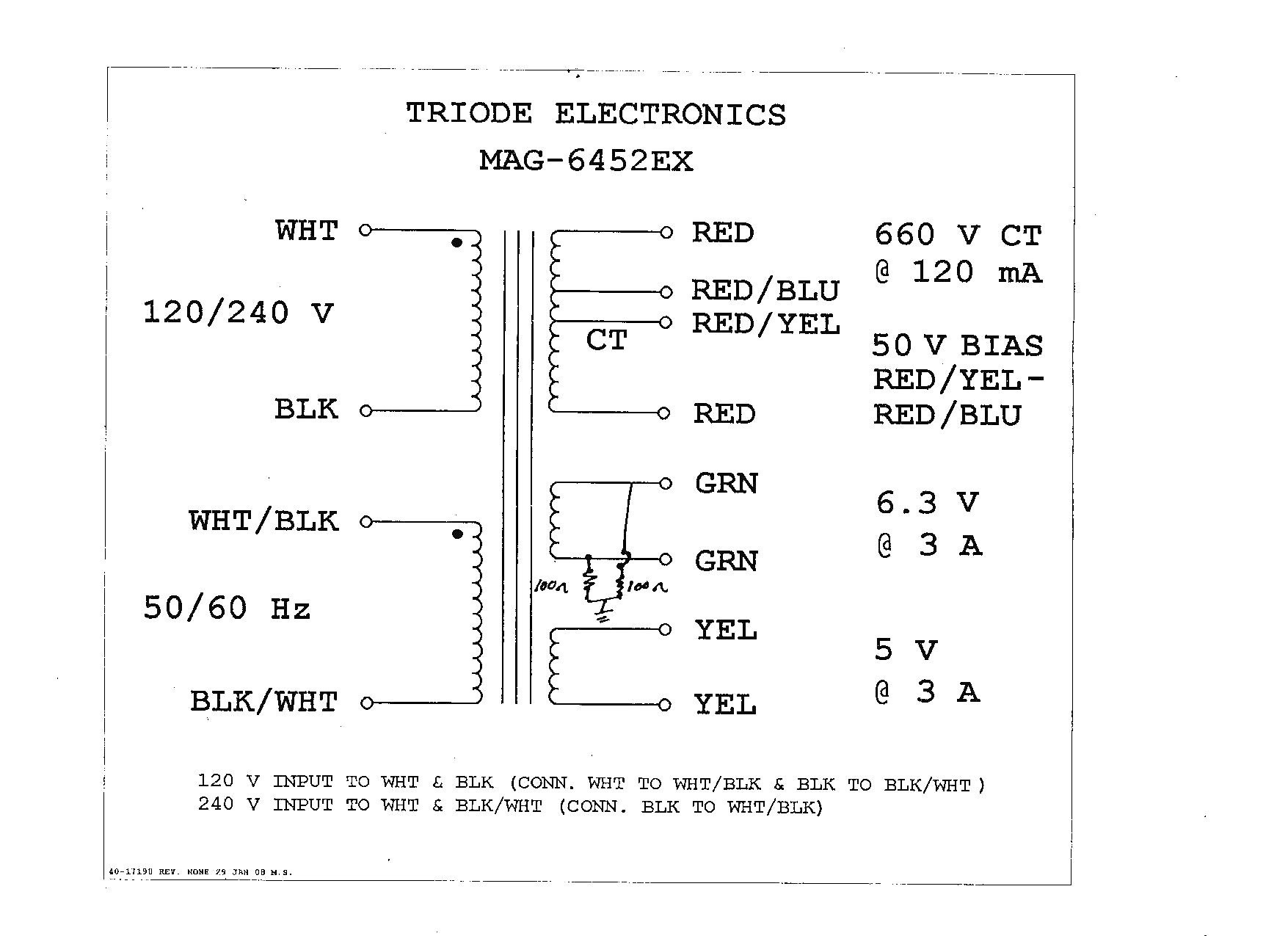 Wiring A T Style Transformer Basic Guide Diagram