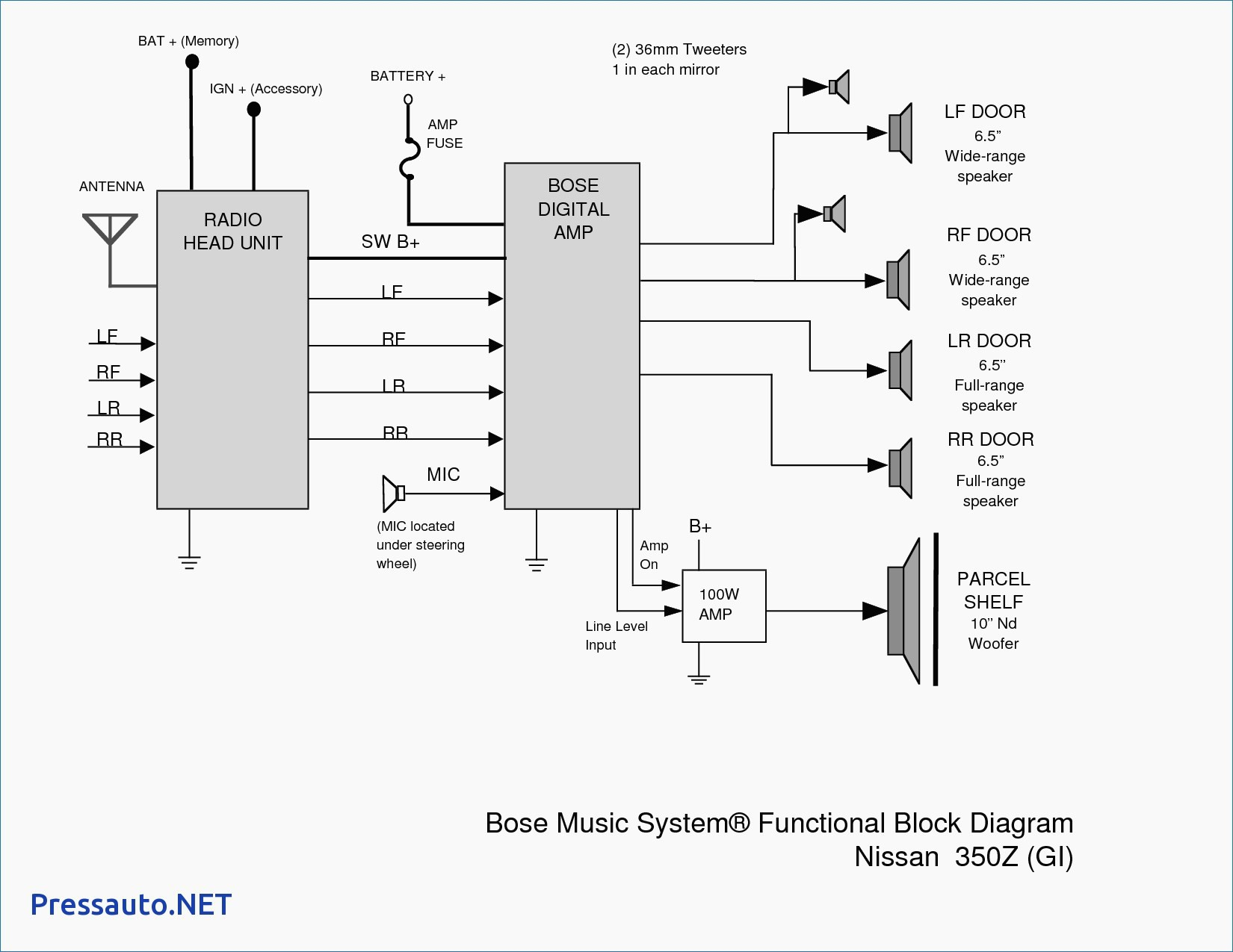 bose car &lifier wiring diagram in depth wiring diagrams u2022 rh heyhan co Bose Car Stereo