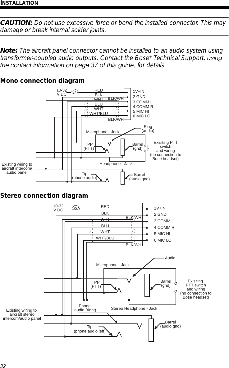 bose earbud wiring diagram Collection-Page 36 of Bluetooth Headset User Manual Bose Corporation 18-a