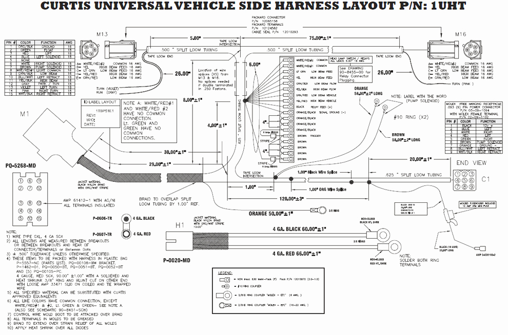 boss plow controller wiring diagram collection