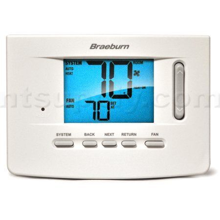 braeburn thermostat wiring diagram Download-Braeburn Model 3020 1 Heat 1 Cool Non Programmable Thermostat by Braeburn $65 95 14-l