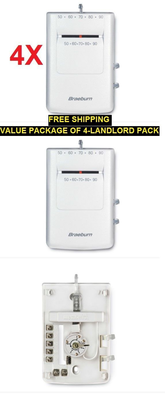 braeburn thermostat wiring diagram Download-Non programmable Thermostats 4 Pack Landlord Propertymngrva Braeburn Builder Model Thermostat 24V 2-d