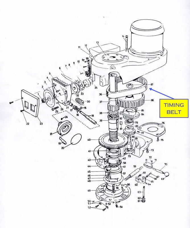 bridgeport series 2 wiring diagram Collection-I suggest you take a look at the timing belt item 36 on the illustration below If you need some printed instruction on accessing or removing the timing 4-c