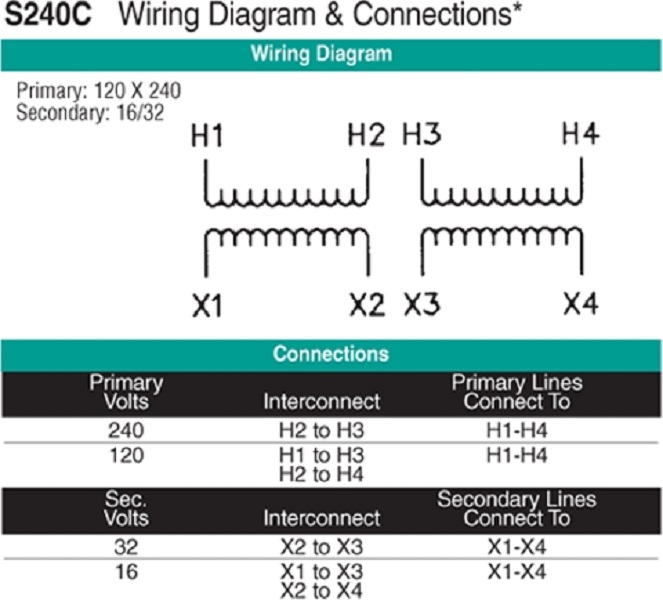Square D Transformer Wiring Diagram : Buck boost transformer to wiring diagram