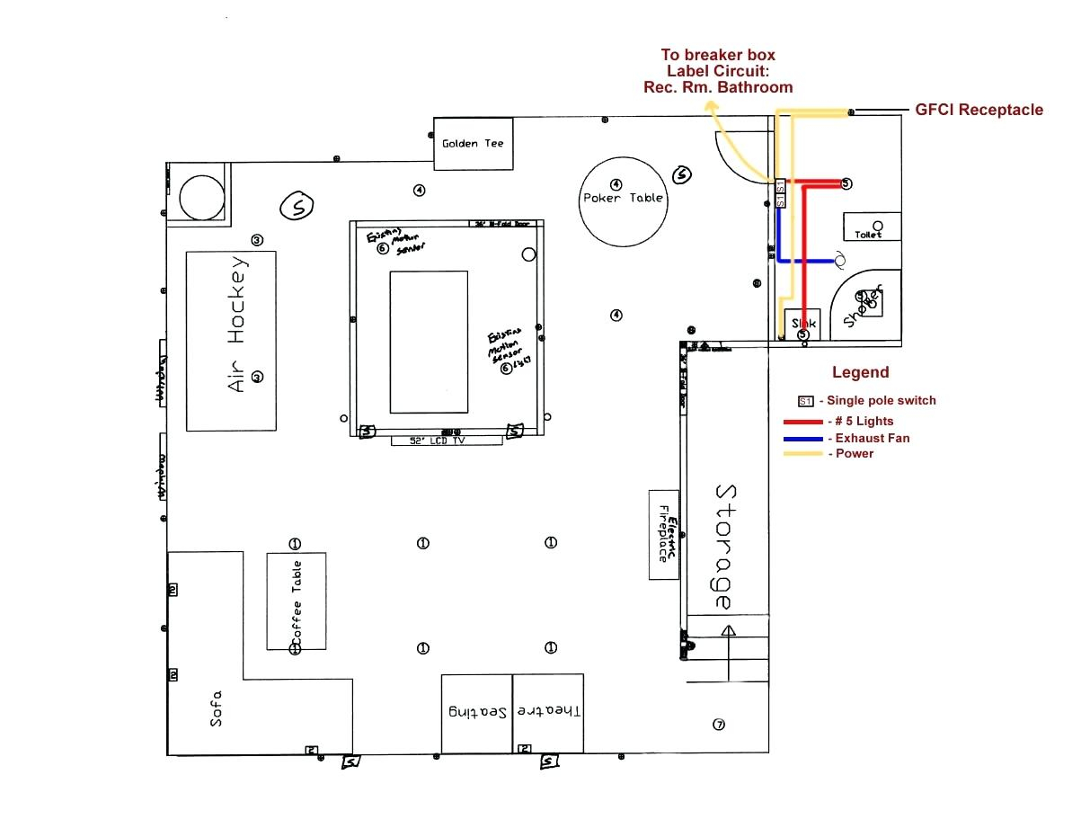 buck stove blower wiring diagram Collection-Bathroom Wiring Diagram Diagrams  16 1 17-e