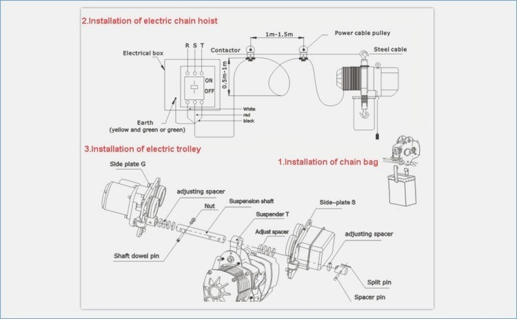 Chain Hoist Wiring Diagram For - In-Depth Wiring Diagrams •