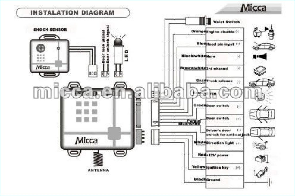 bulldog car alarm wiring diagram Collection-Auto Wiring Diagrams Pic Car Security System Wiring Diagram 3-c