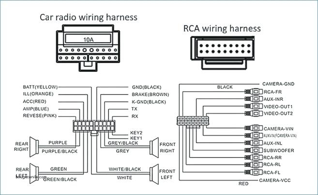car audio wiring diagram sample