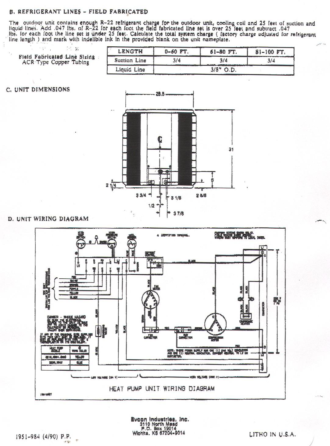 carrier heat pump wiring diagram thermostat Download-York Heat Pump Wiring Diagram 2-q