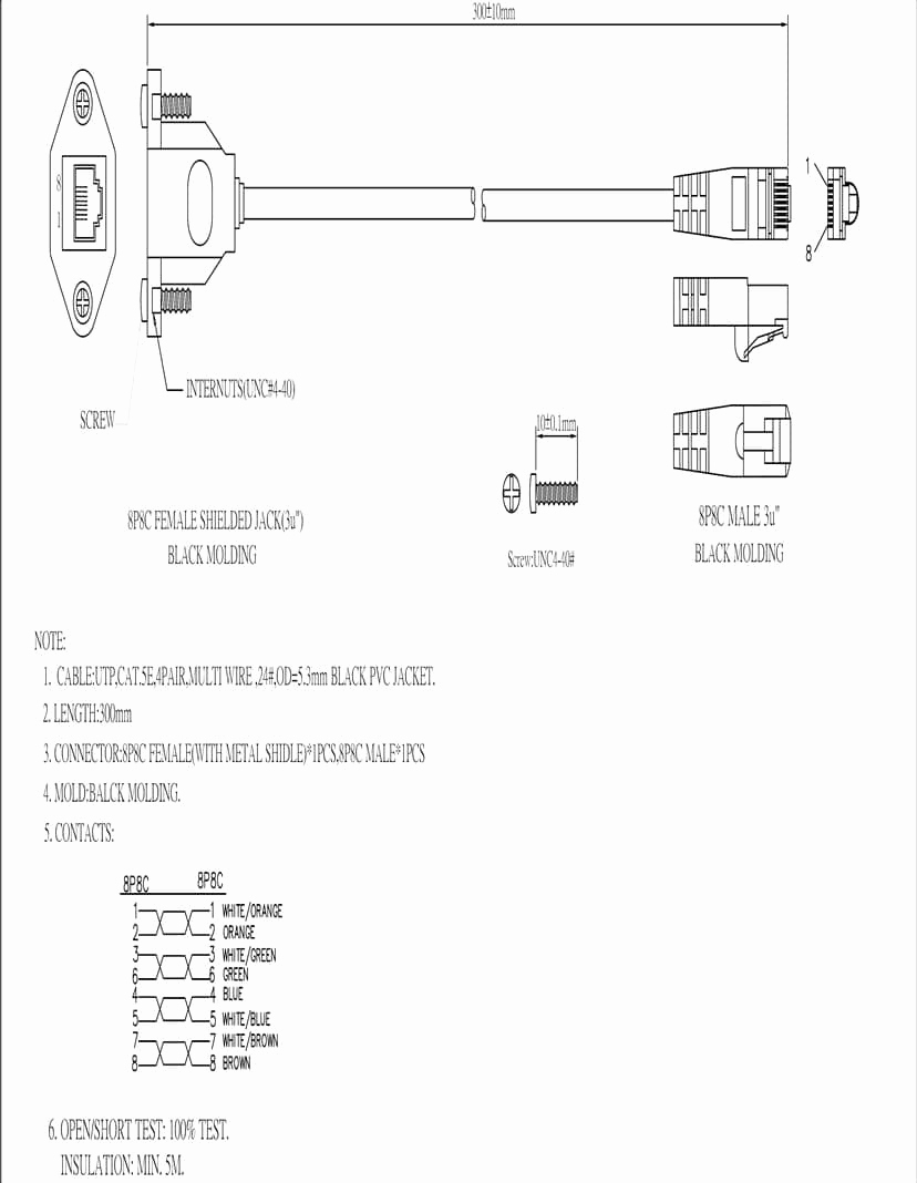 cat 6 wiring diagram Collection-Cat 6 Wiring Diagram Fresh Adafruit Adafruit Accessories 18-e