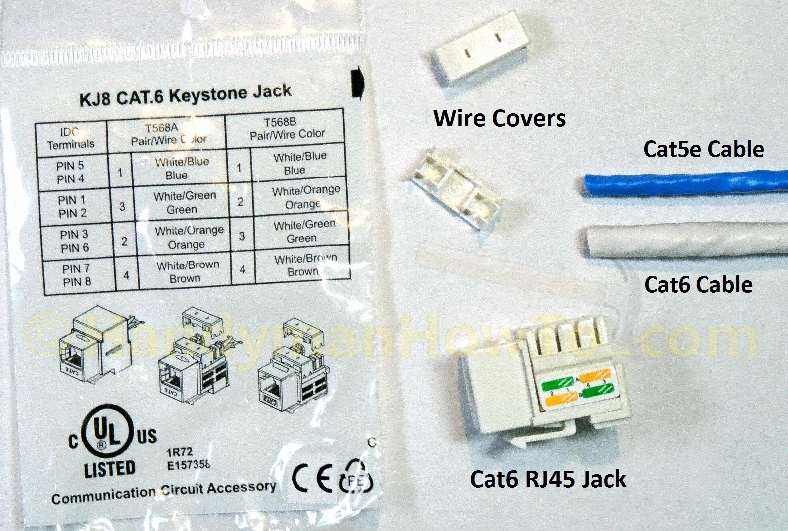 Cat6 Keystone Jack Wiring Diagram Collection Sample Full Size Of Cat 5e
