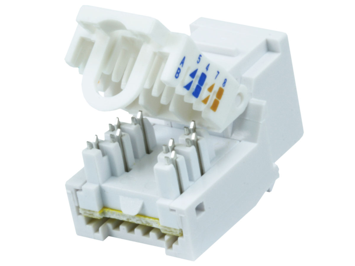 Cat 5e Jack Wiring Detailed Schematics Diagram Cat6 Keystone Collection Sample 6 Cable
