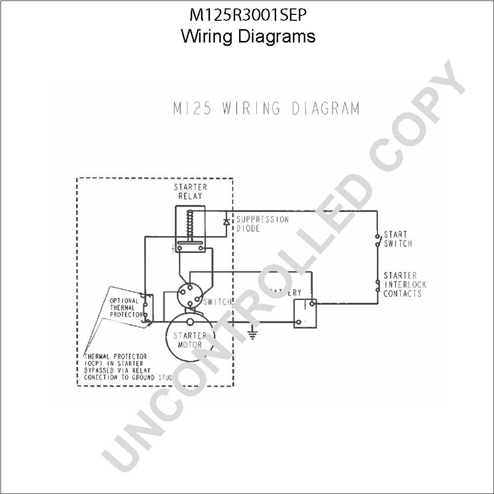 Caterpillar Starter Wiring Diagram - M125r3001sep Wiring Diagram 3h