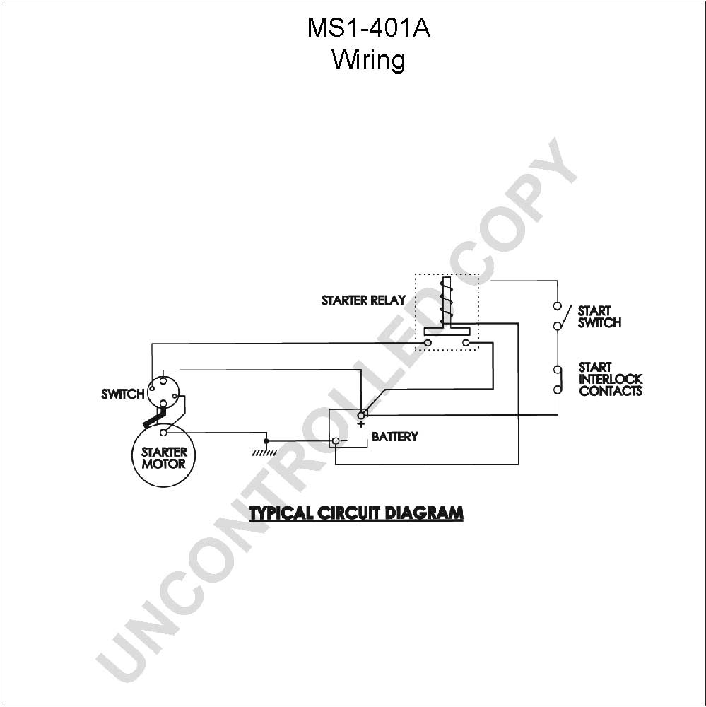 caterpillar starter wiring diagram Collection-MS1 401A Wiring Diagram 11-s