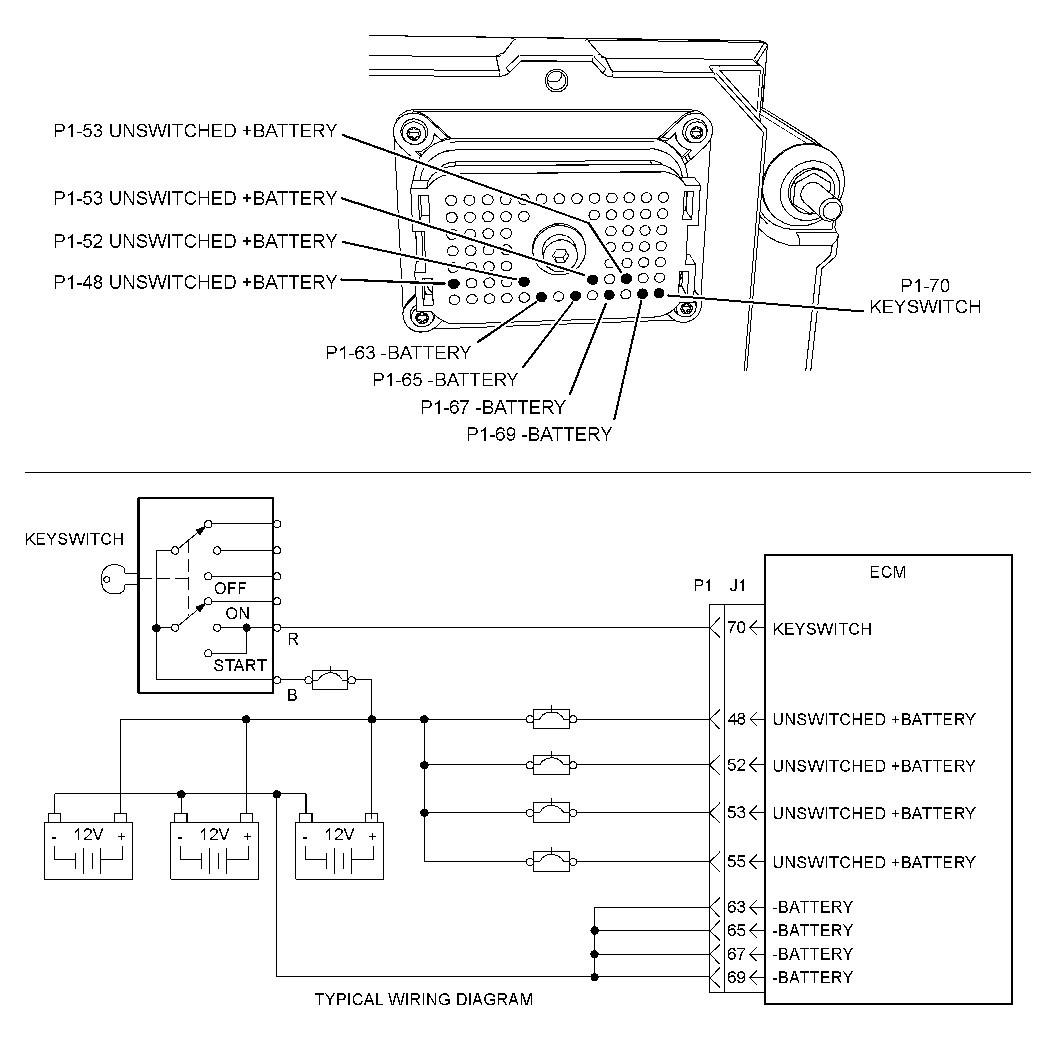 Caterpillar Starter Wiring Diagram Sample
