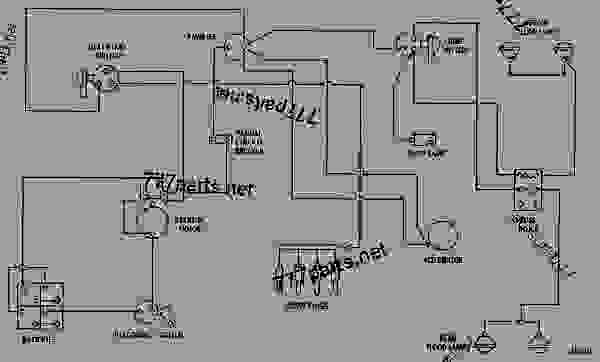 caterpillar starter wiring diagram Collection-WIRING DIAGRAM TRACK TYPE TRACTOR Caterpillar D4D D4D TRACTOR 07R UP MACHINE POWERED BY 3304 ENGINE STARTING AND ELECTRICAL SYSTEM 16-o