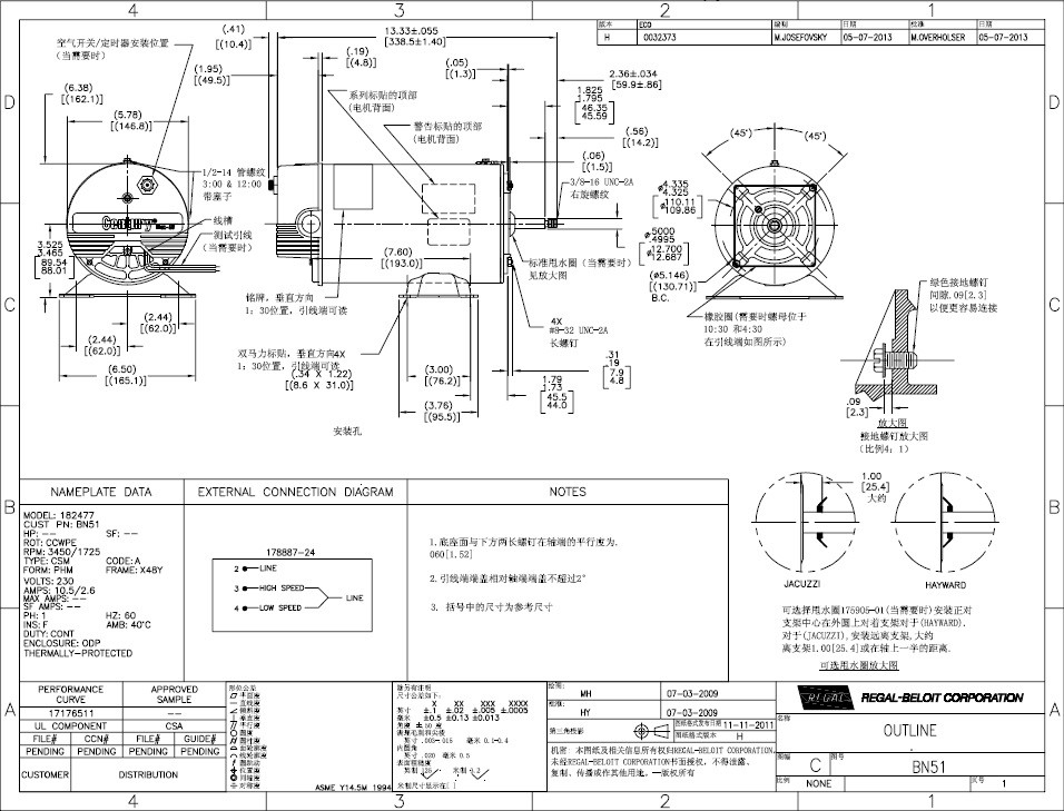 2 Speed Motor Wiring Diagram : Century speed motor wiring diagram download