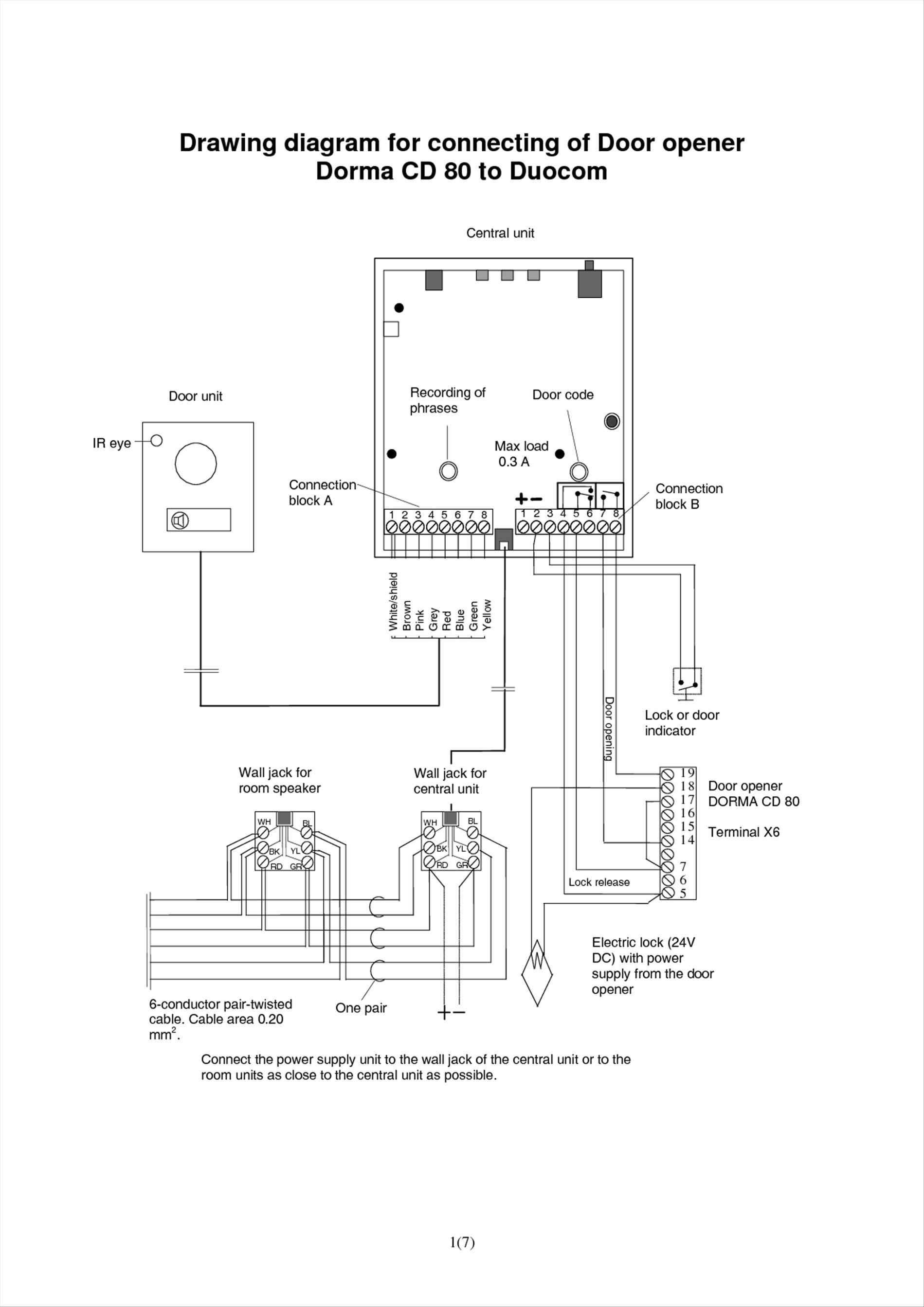 chamberlain garage door opener wiring diagram Collection-Genie Garage Door Opener Sensor Wiring Diagramgarage Doors 33 For 17-r