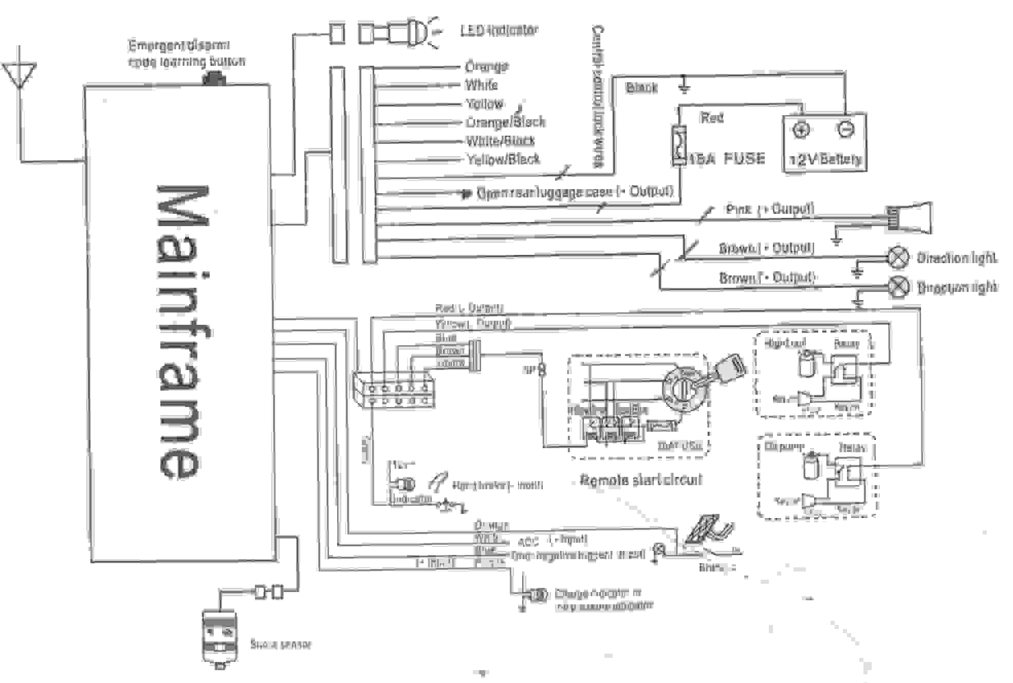 chapman vehicle security system wiring diagram Collection-Vehicle Alarm Wiring Diagram New Vehicle Alarm Wiring Diagram Chapman Security System Information 20-d