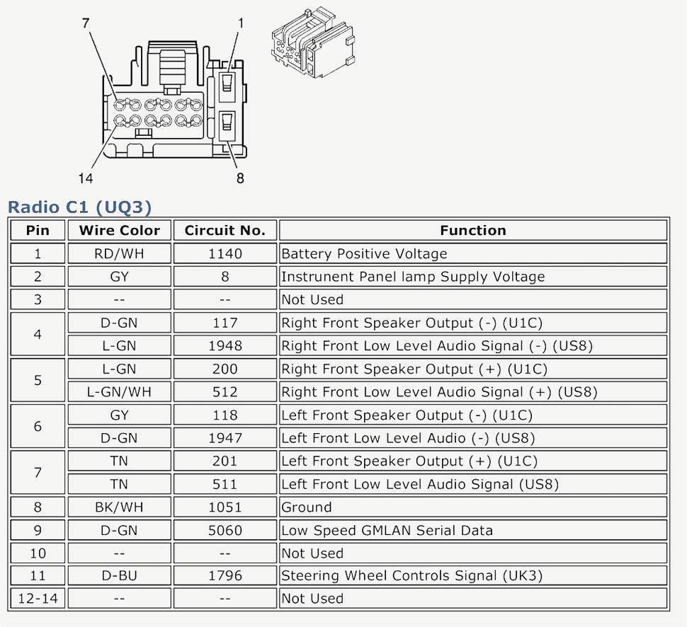 chevy radio wiring diagram Download-2005 Chevy Silverado Radio Wiring Diagram 9-e