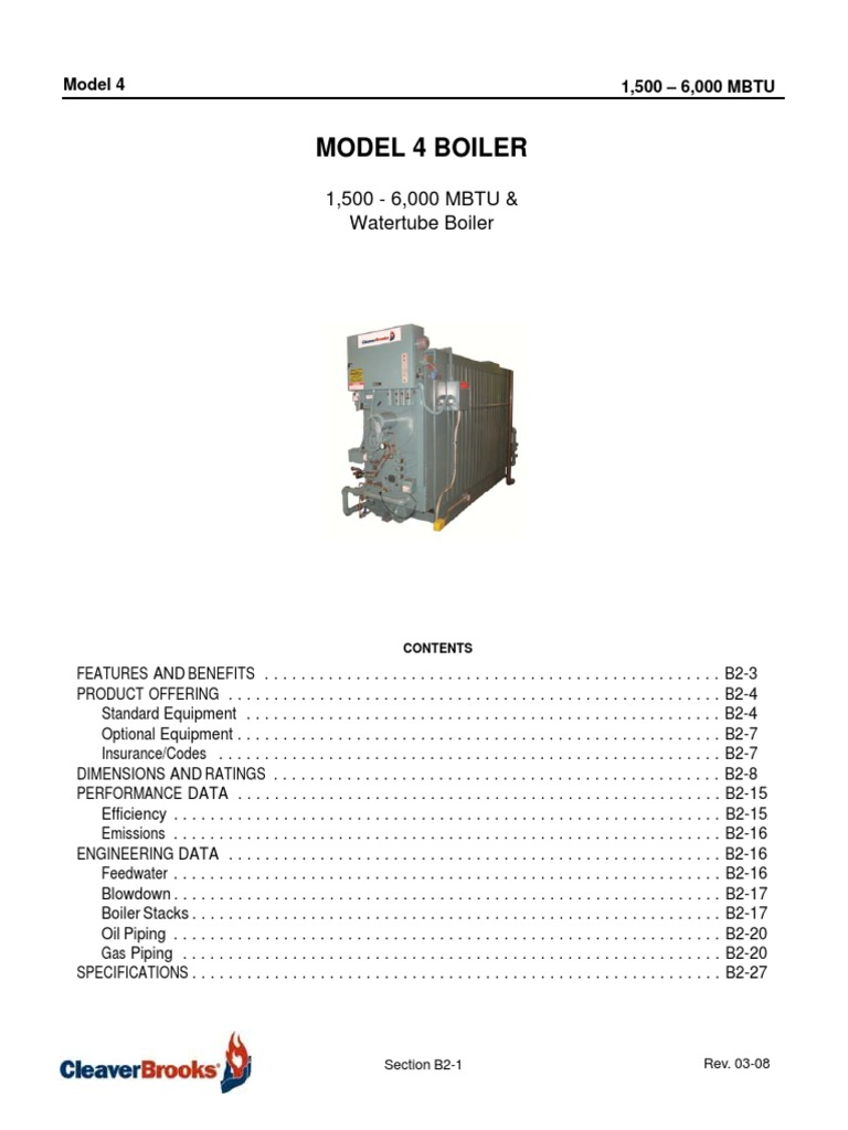Cleaver Brooks Wiring Diagram Collection Sample Dimensions
