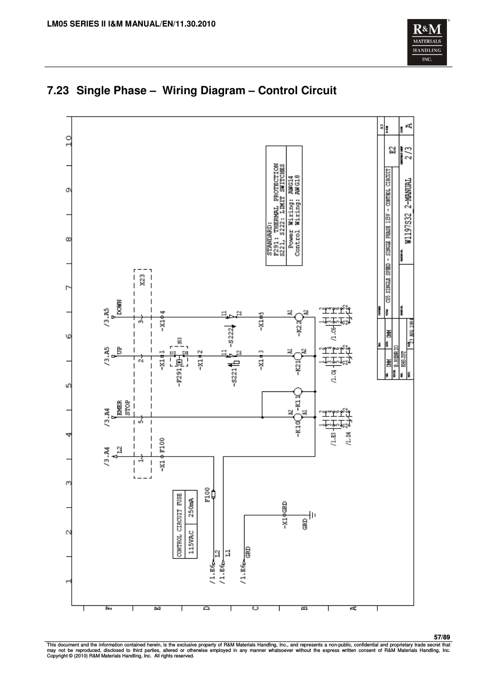 cm hoist wiring diagram Download-Demag Hoist Wiring Diagram 12-b