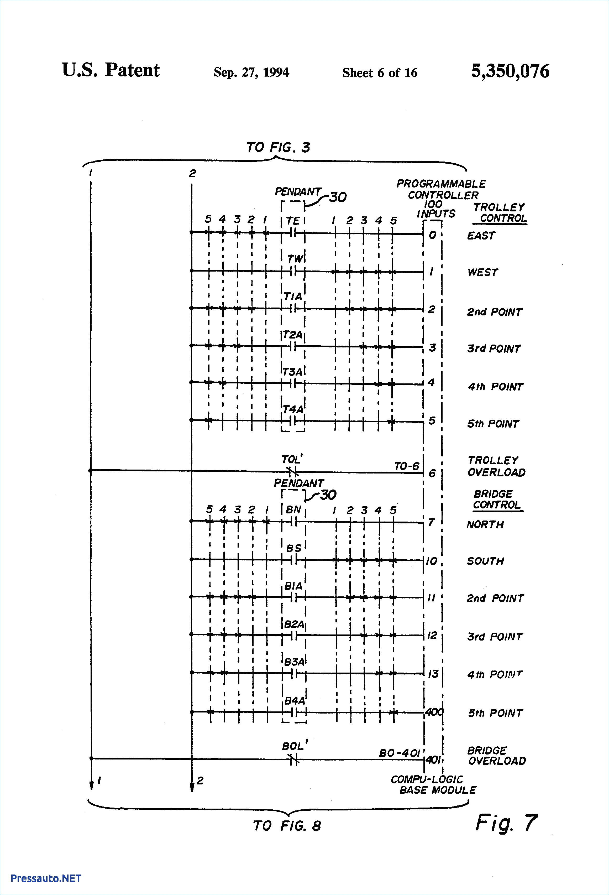 cm hoist wiring diagram Collection-Demag Hoist Wiring Diagram For B12 3 To  Overhead Crane