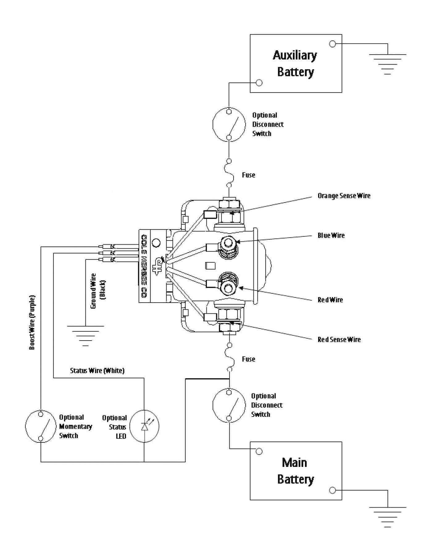 Cole Hersee Battery Isolator Wiring Diagram Collection Whelen Csp690 Download Rv Disconnect Switch New