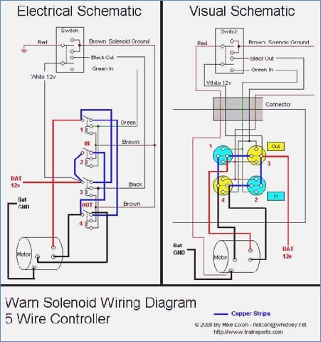 cole hersee solenoid wiring diagram Collection-Wiring Diagram for 12v solenoid for Winch Installation Best Amazing Warn Winch M Wiring Diagram 16-a
