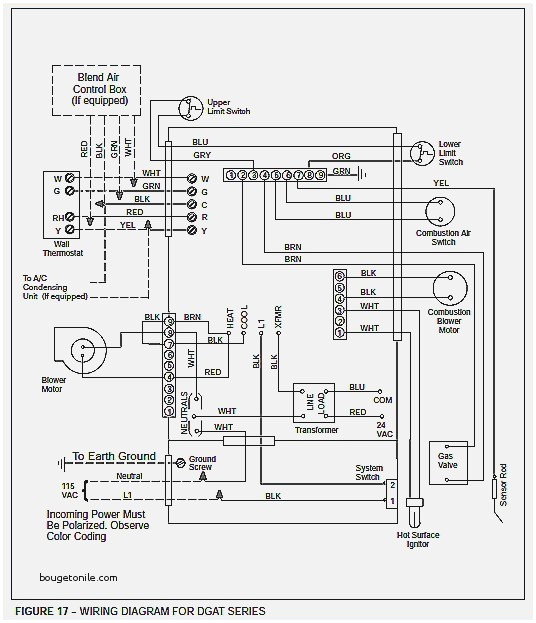 coleman mobile home gas furnace wiring diagram sample