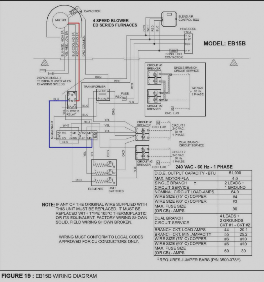 Coleman Mobile Home Gas Furnace Wiring Diagram Sample ... on