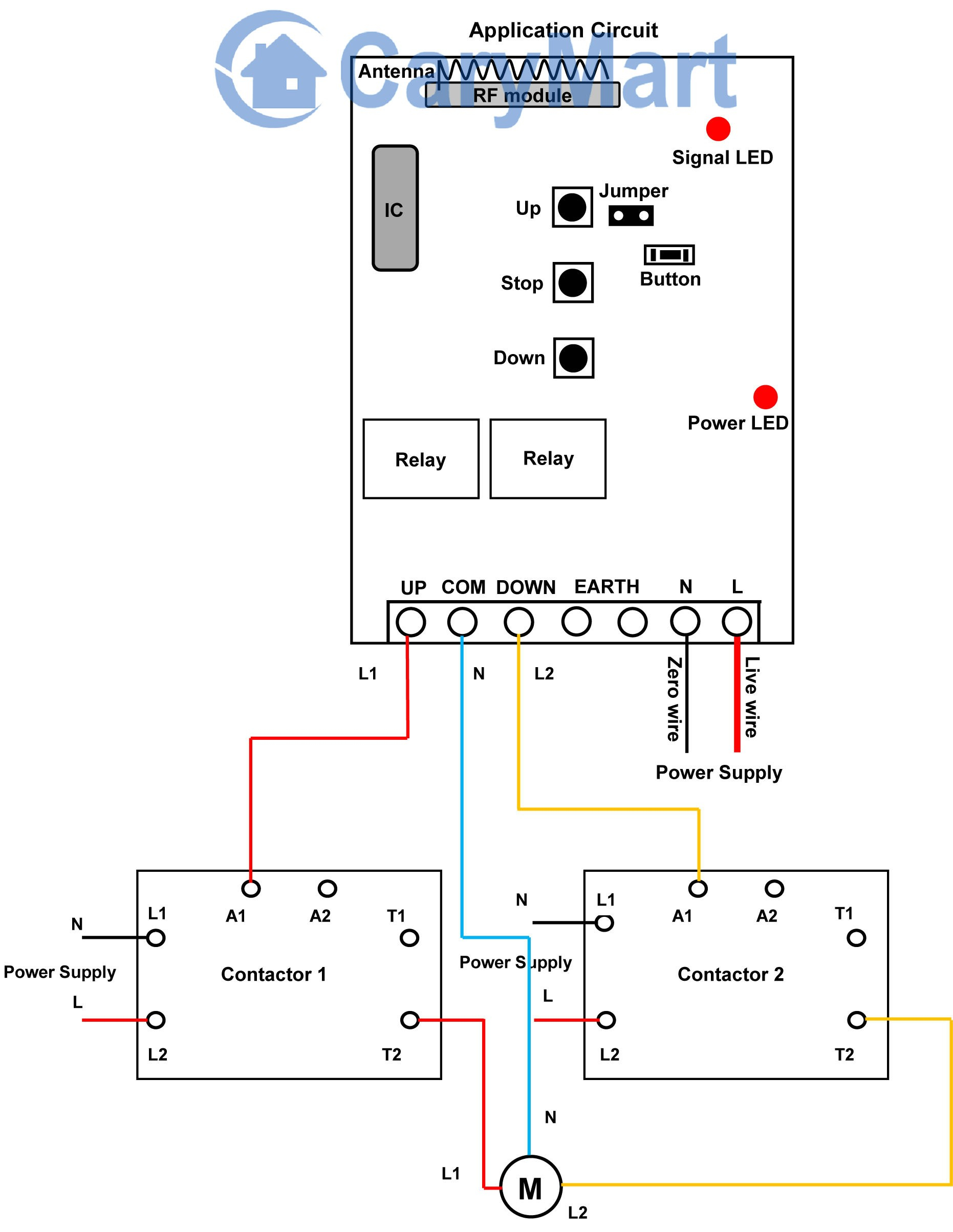 contactor wiring diagram a1 a2 Collection-Circuit Diagram Contactor Best  Motor Reversing Contactor Wiring Diagram