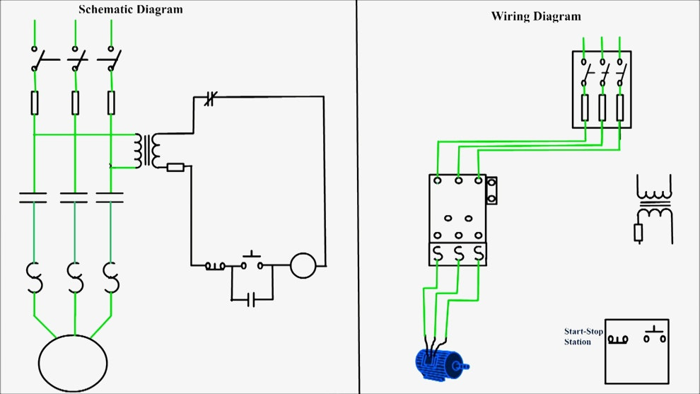 contactor wiring diagram start stop Collection-3 Phase Contactor Wiring Diagram Start Stop Lovely Controlled Vfd Pump Wiring Diagram Dolgular 11-m