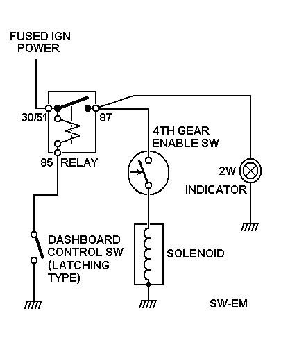 control relay wiring diagram Collection-12v Latching Relay Wiring Diagram Lovely Sw Em Od Retrofitting A Vintage Volvo 2-e