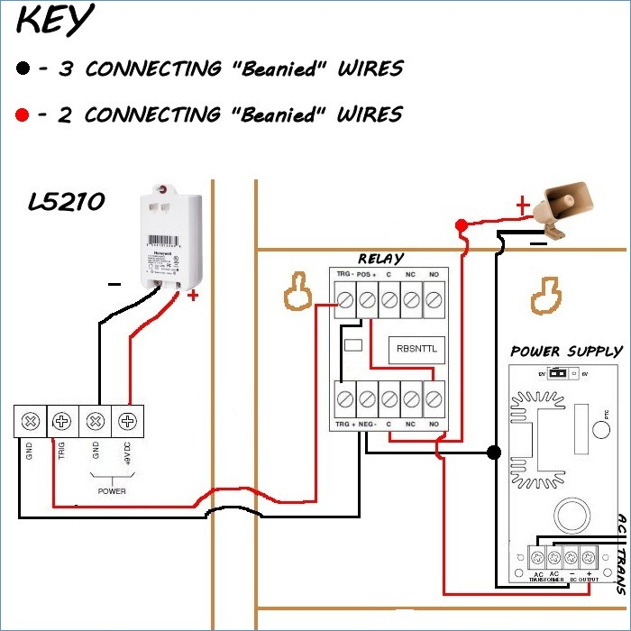 control relay wiring diagram Collection-Honeywell Sirenkit Od Outdoor Siren Kit for Lynx touch Control 15-q